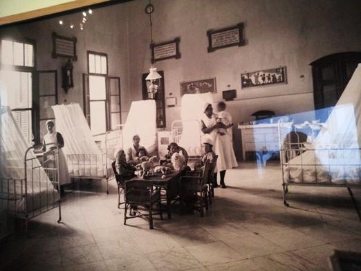 חדר אשפוז הילדים בבית החולים שערי צדק, 1910