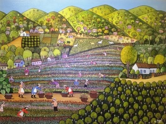 קטיף פרחים, ווילמה ראמוס, ברזיל 2007. מחיר: 3,500 דולר