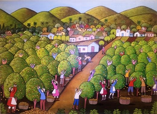 קטיף תפוזים, ווילמה ראמוס, ברזיל 2006
