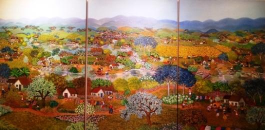 איזה יום נפלא! (טריפטיך), לוסיה בוצ'יני, ברזיל 2013. מחיר: 14 אלף דולר