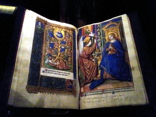 ספר שעות - ספר תפילות נוצרי מאויר, פריז 1512