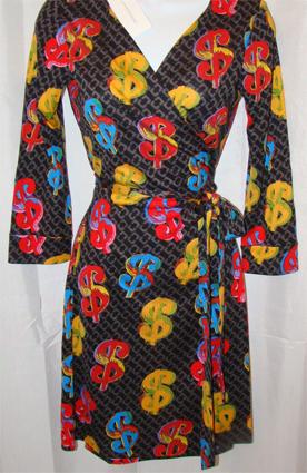 שמלת הדולרים של וורהול - 430 דולרים והיא שלכן