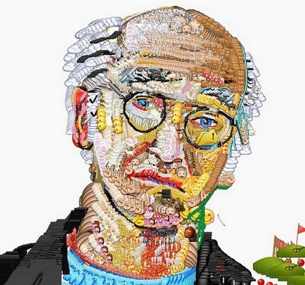 נסו לצייר את לארי דיוויד, באמצעות מברשת אימוג'י