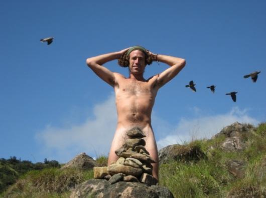 עמיחי רב בקוסטה ריקה. מי צילם אותך? צילום מתוך האתר my naked trip