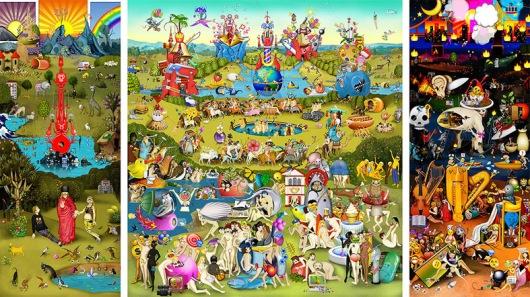 The Garden of Emoji Delights - Carla Gannis
