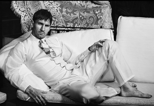 Lionel Messi for Dolce & Gabbana . קמפיין לא אופייני, ולא בטוח שמוצלח, של מסי