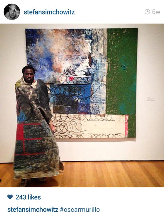 האמן הקולומיבאני אוסקר מורילו מדגים ב-MOMA איך לקדם אמנות
