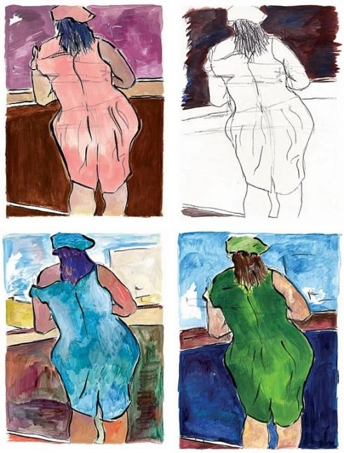 מי מתבונן על נשים מאחור, וצובע את שמלתן?