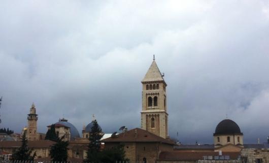 מגדל כנסיית הגואל. שווה את הטיפוס