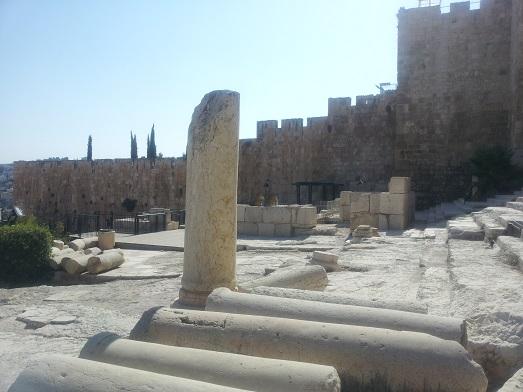 מרכז דוידסון. מיני גן עדן לחובבי ארכיאולוגיה