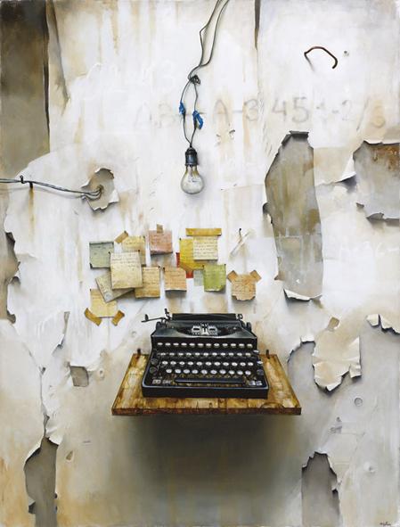 """""""לפנות זמן וליצור את האמנות בזמן שאתה עסוק במלחמת הישרדות, זה אתגר גדול מאוד"""""""