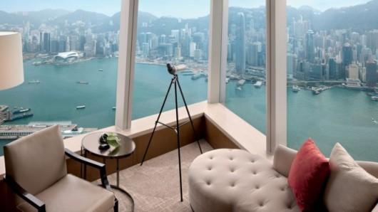 כמה אתם מוכנים לשלם תמורת נוף? Ritz-Carlton Hong Kong