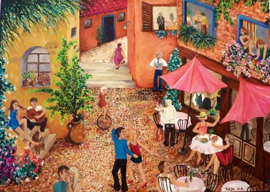 Coffee Break 2014, תרזה חורין קרגולה