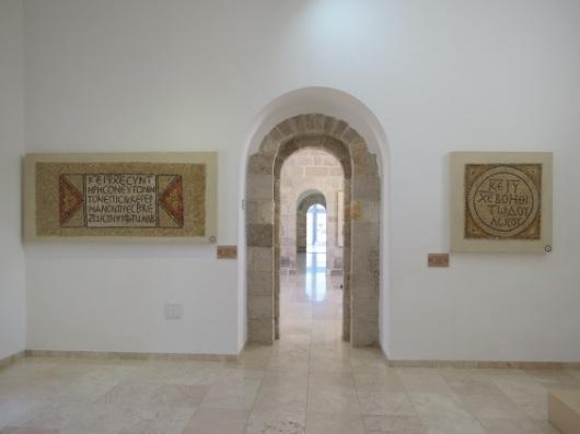 החלק הסגור של המוזיאון שוכן במקום שנבנה בתקופה העות'מאנית כפונדק דרכים
