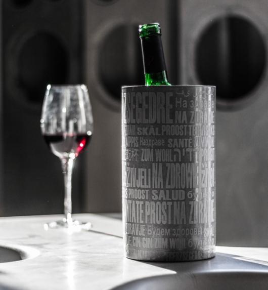 דלי קרח של איוונקה. מה מתאים יותר לצינון שמפניה מבטון קר?