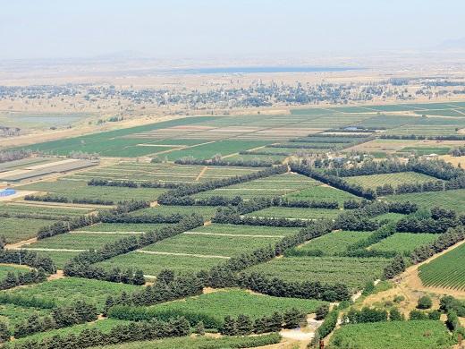 נופים הם לפעמים מעברי גבול לסוריה