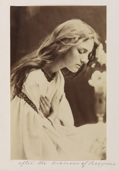 After the Manner of Perugino, 1865, Julia Margaret Cameron © National Media Museum, Bradford / Science & Society Picture Library