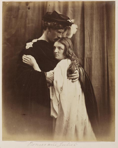 Romeo and Juliet, 1867, Julia Margaret Cameron © National Media Museum, Bradford / Science & Society Picture Library