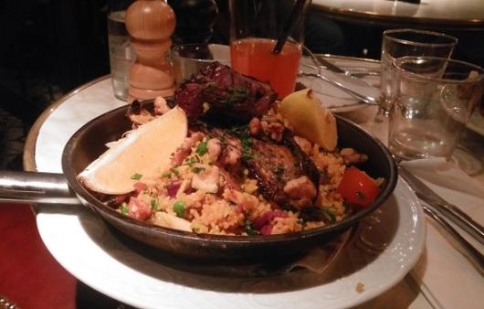 מנה במסעדה טלביה של אסף גרניט. צלמתי בביקור שלי החודש