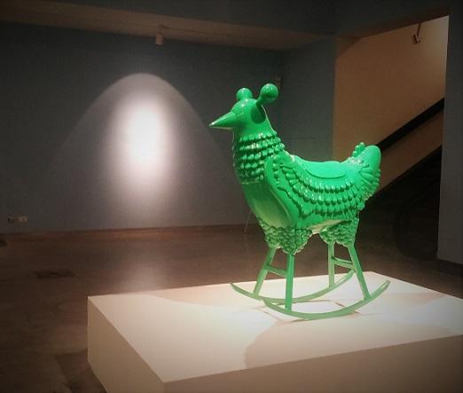 התרנגולת הירוקה, הגרסה הסופית. נולדה מתוך החלומות הירוקים של חיון