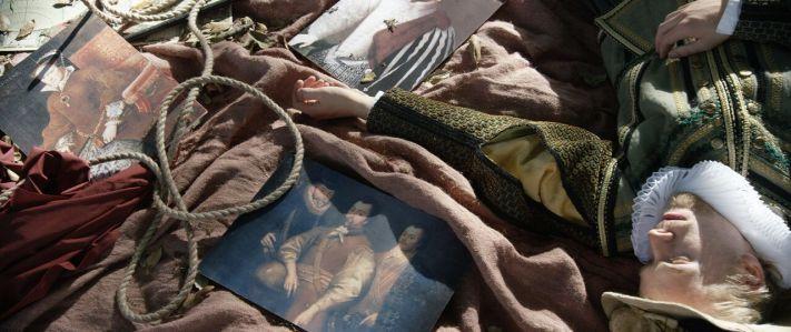 עיסוק מתמשך בהגירה ובזהות     מטריד אך ממגנט. צילום מתוך התערוכה של ג'ון אקומפרה בגלריה ליסון שבלונדון Photo: Courtesy of Lisson Gallery