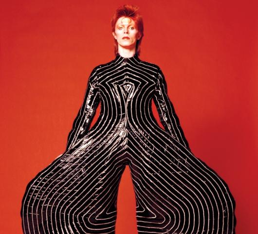 צילום מתוך התערוכה David Bowie Is, מוזיאון חרונינגן