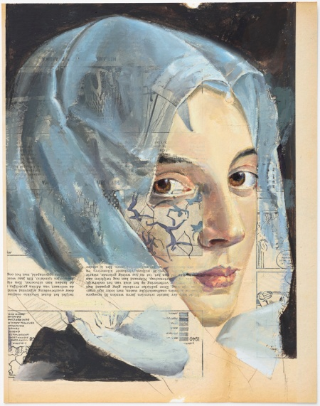 Domesticated, ז'אן זה מאסשלק. עיתונים ישנים הפכו בסיס ליצירה חדשה