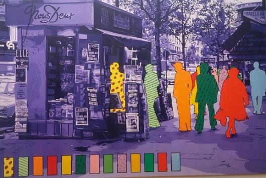 'מקרא הצבעים' הוא מסימני ההיכר לעבודותיו של פרומנגר