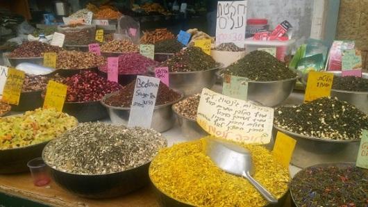תערובות בריאות בשוק מחנה יהודה