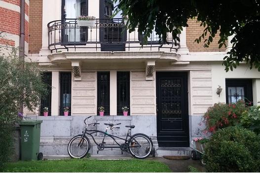 דלת בשכונת זורנברג, אנטוורפן. ספטמבר 2015