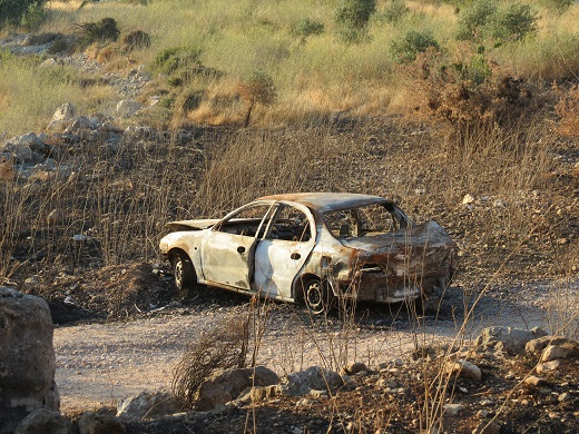 גם מכונית אחת כילתה את חייה