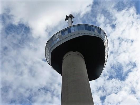 המבנה הגבוה ביותר בהולנד, 185 מטר. היורומאסט