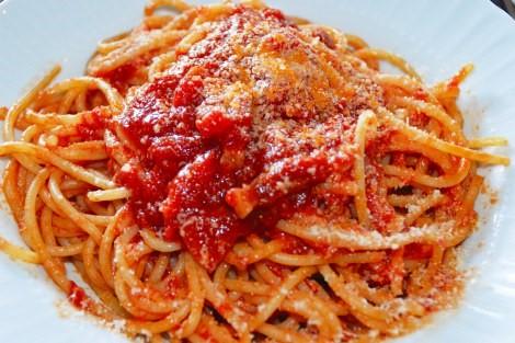 אמטריצ'ה ידועה בעולם בזכות הספגטי ברוטב 'אל אמטריצ'יאנה', all'amatriciana
