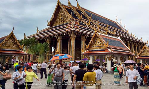 איך היא מצליחה למשוך אליה 21.5 מיליון תיירים בשנה. בנגקוק Photo: Tourism Authority of Thailand