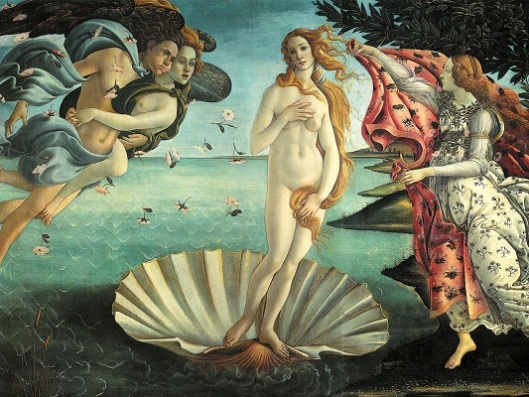 אפקט ההנאה מצפייה בציור של בוטצ'לי כמעט זהה לאפקט שיש להתאהבות עלינו. לידתה של ונוס, בוטצ'לי