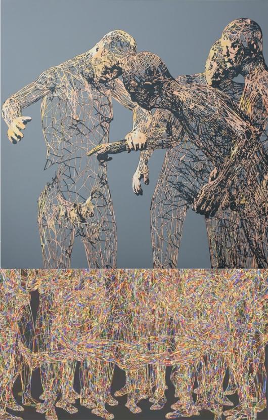 ההפשטות מדרבנות אותנו לפרש את האמנות באופן יצירתי, ולעבד את המידע שניצב מולנו /// Miao Xiaochun