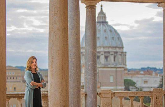 ברברה ג'טה, המנהלת החדשה של המוזיאונים של הוותיקן. מינוי ישיר של האפיפיור / Photo: Vatican Museums