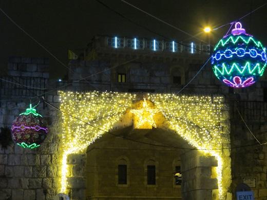 השער החדש, דרכו נכנסים לרובע הנוצרי בעיר העתיקה של ירושלים