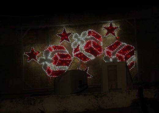 מסימני חג המולד ברובע הנוצרי