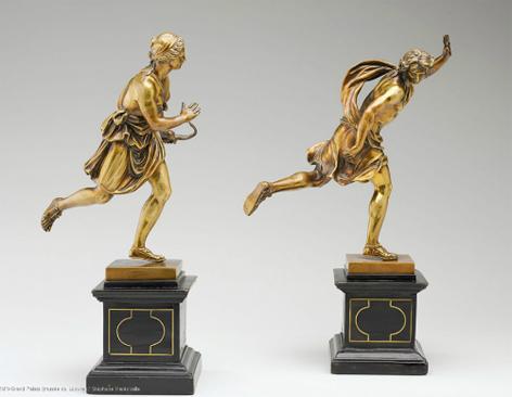 אחת התערוכות העכשוויות בלובר עוסקת בריקוד ובקשר שלו למוזיאון. האוצר הוא בנג'מין מילפייה, בן זוגה של נטלי פורטמן © RMN, Musée du Louvre / Stephane Marechalle